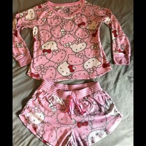 Hello Kitty! Pajamas. Size M.